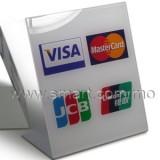形信用卡膠牌