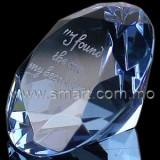 淺藍鑽石水晶