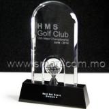水晶高爾夫獎座