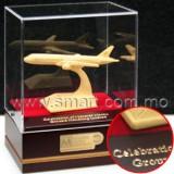 絨金飛機模型