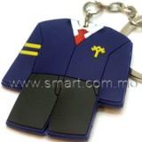 校服軟膠匙扣