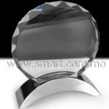 不鏽鋼座水晶